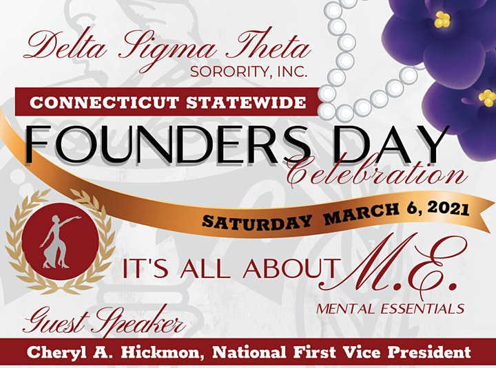 Connecticut Statewide Founders Day 2021 (Sold Out) image