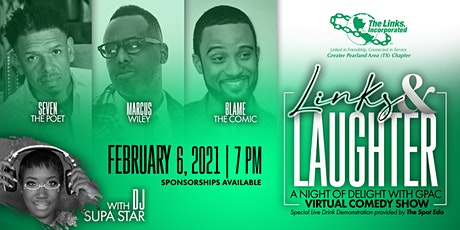 Greater Pearland Area Chapter of The Links Virtual Comedy Show Fundraiser tickets