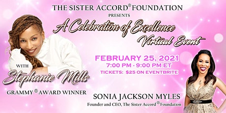 The Sister Accord Foundation's Celebration Of Excellence w/Stephanie Mills tickets