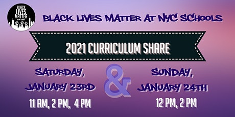 BLM at NYC Schools 2021 Curriculum Share tickets