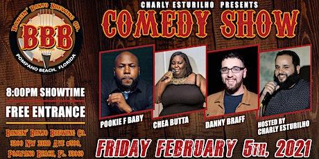 Bangin' Banjo Comedy Showcase tickets
