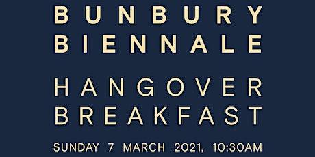 Bunbury Biennale Hangover Breakfast tickets