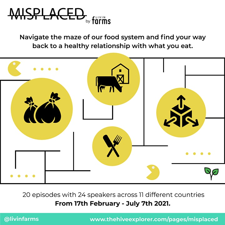 Misplaced - Navigate the maze of our food system image