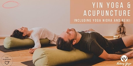 Yin Yoga & Acupuncture tickets