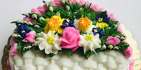 Learn to Create Beautiful Buttercream Spring Flowers tickets