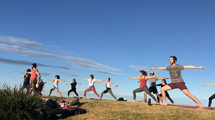 Silent Disco Yoga with DJ, Live Music and Sunset image