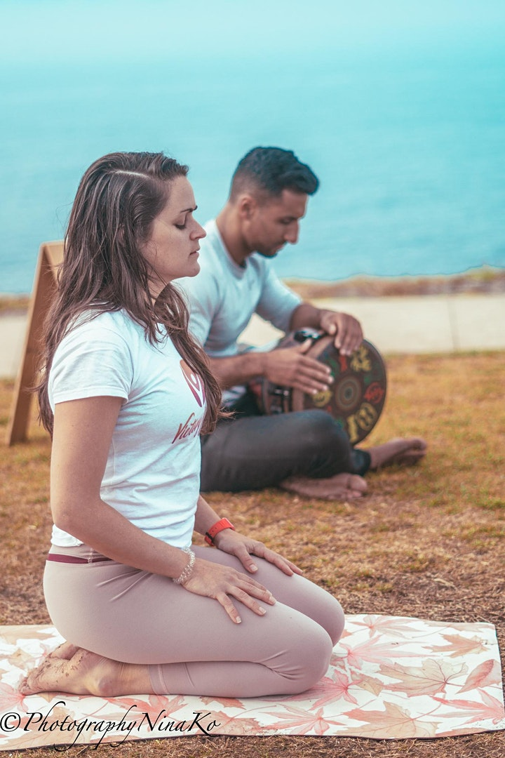 Vinyasa & Sound Healing (Drumming) image