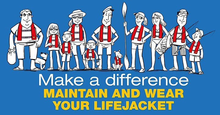 Make a Difference - Maintain and Wear your Lifejacket DAWESVILLE image
