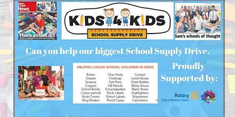 Kids4Kids School Supply Drive Day tickets