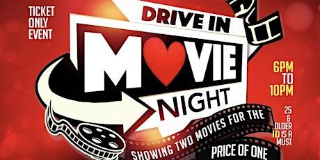 Drive In Movie Nights ( Valentine Weekend ) tickets