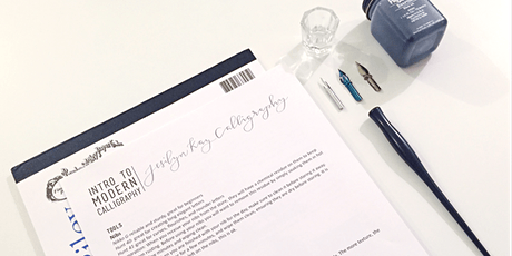 virtual workshop: intro to modern calligraphy tickets