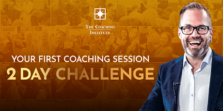 Your First Coaching Session - 2 Day Challenge tickets