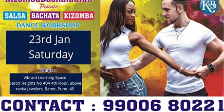 FREE SALSA Bachata and KIZOMBA Dance WORKSHOP tickets