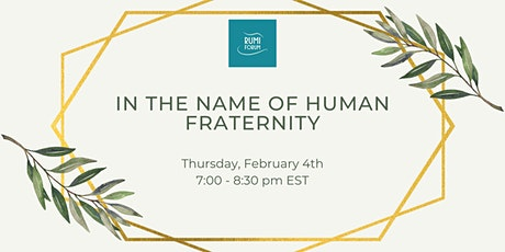 In the Name of Human Fraternity tickets