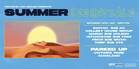 Distorted & Redline Presents: Summer Essentials tickets