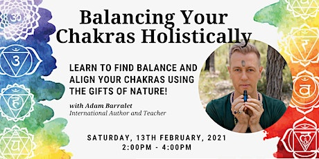 Balancing your Chakras Holistically tickets