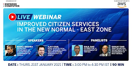 Improved Citizen Services in the New Normal | East Zone tickets