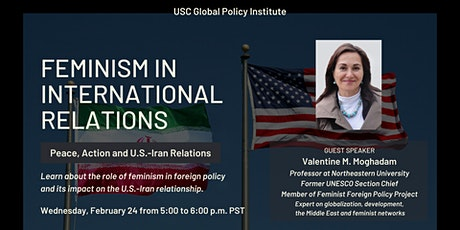 Feminism in International Relations: Peace, Action and U.S.-Iran Relations tickets
