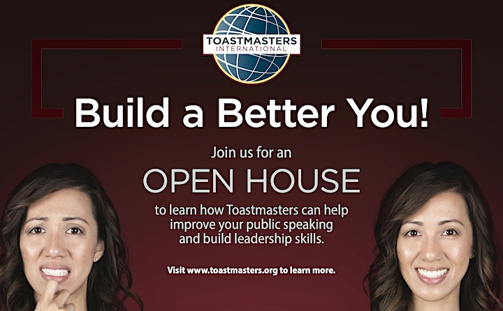 TOASTMASTERS OPEN HOUSE image