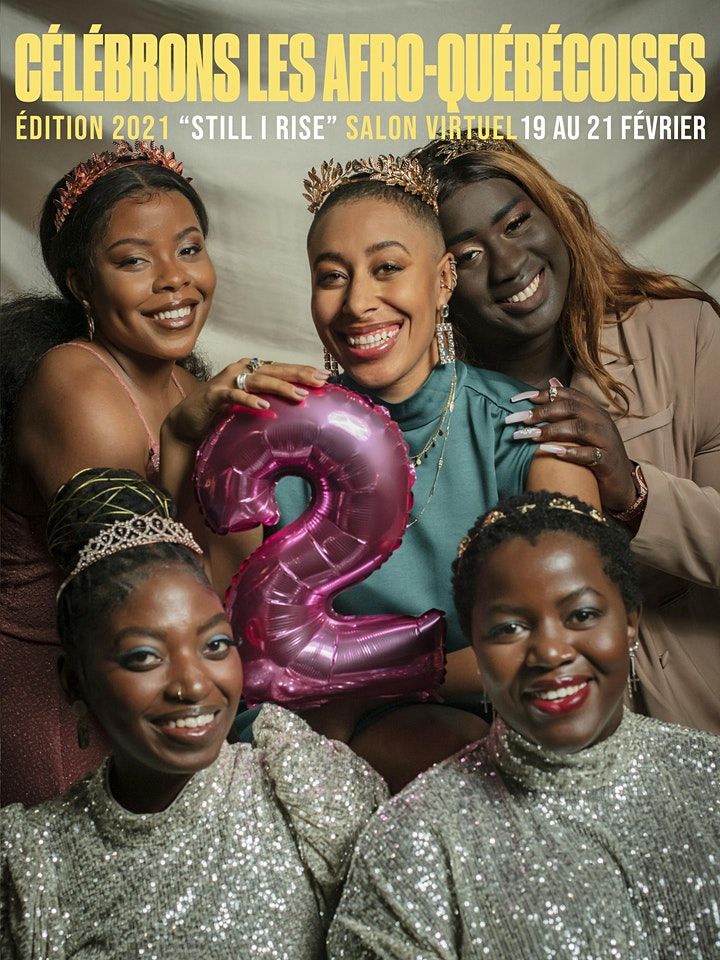 Image de CLAQ-Célébrons Les Afro-Québécoises 2e édition- Still I Rise