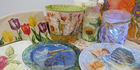 Decoupage Art Course starts March 10 (8 Sessions) tickets