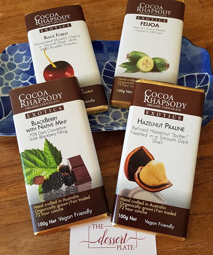 Chocolate Tasting Session: featuring  Melbourne Artisan Chocolatiers image