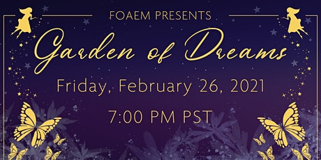 Garden of Dreams Virtual Gala tickets