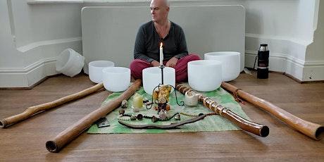Didgeridoo & Crystal Chakra Bowl & Bell Sound Healing tickets