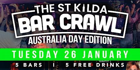 Copy of Australia Day Bar Crawl - St Kilda tickets