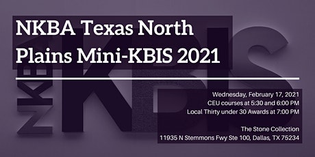 NKBA Texas North Plains Mini-KBIS 2021 tickets
