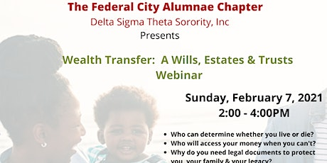 Wealth Transfer:  A Wills, Estates & Trusts Webinar tickets