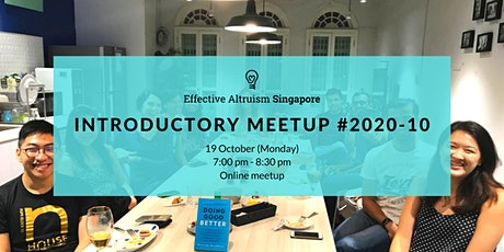 Effective Altruism Singapore: Introductory Online Meetup #2021-01 tickets