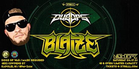 DUB OPs ft BLAIZE w/ SECRET Special Guest tickets
