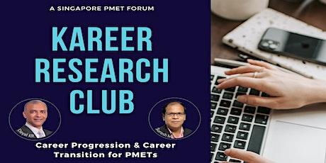 Kareer Research Club - Fortnightly Webinar tickets