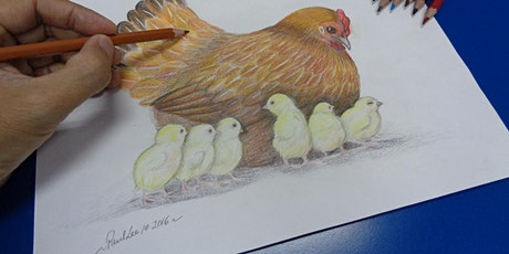 Coloured Pencil Drawing Course starts March 16 (8 sessions) tickets