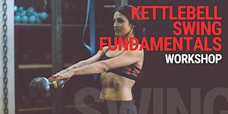 Kettlebell Swing Foundations Workshop tickets
