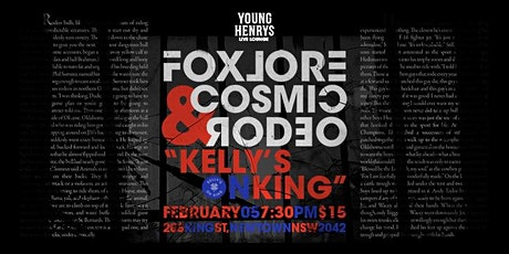 Young Henrys Live Lounge Ft. Foxlore & Cosmic Rodeo tickets