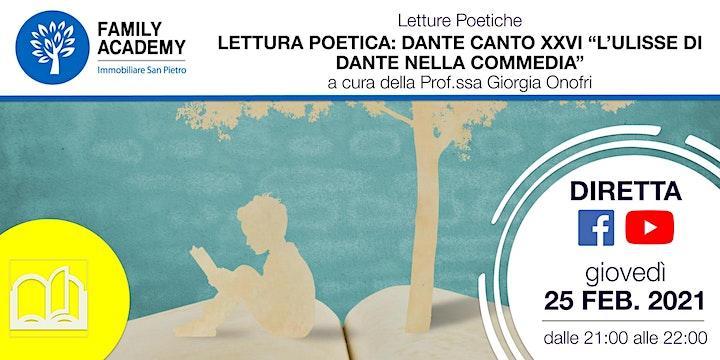 """Immagine LETTURA POETICA: DANTE CANTO XXVI """"L'ULISSE DI DANTE NELLA COMMEDIA"""""""