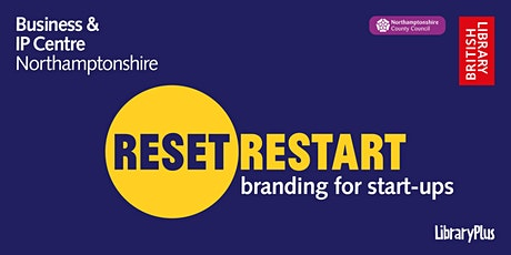 Reset. Restart: branding for start-ups tickets