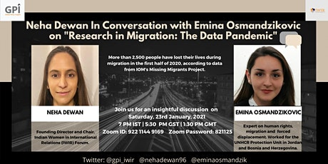 Discussion on Research in Migration: The Data Pandemic tickets