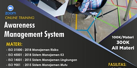 Paid Online Training: Awareness Management System tickets