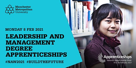 Leadership & Management  Degree Apprenticeship Employer Webinar tickets