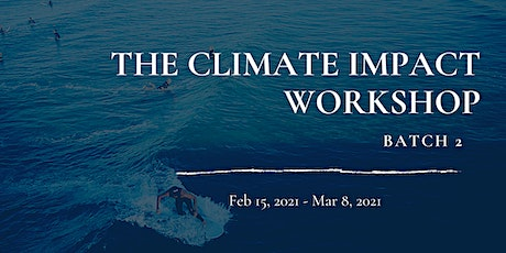 The Climate Impact Workshop - 5 Easy Steps to follow with a Plan tickets