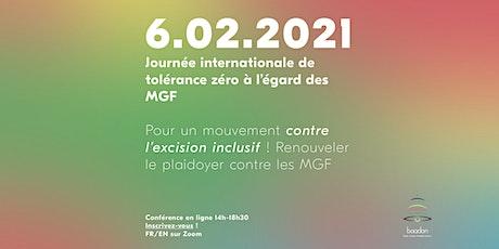 Pour un mouvement contre l'excision inclusif! tickets