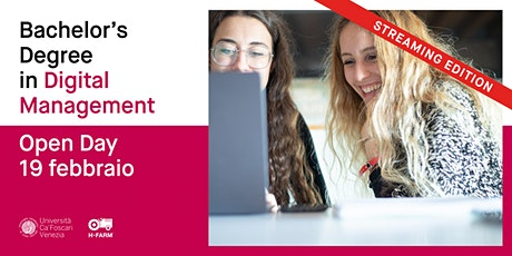 Laurea Triennale in Digital Management - Open Day Online tickets