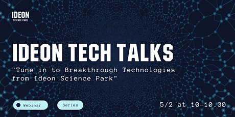Ideon Tech Talks tickets