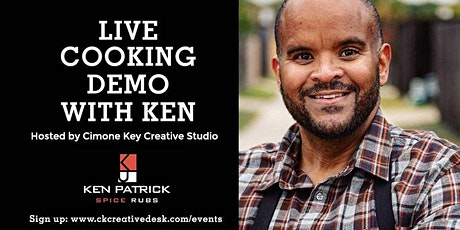 LIVE Cooking Demo with Award-Winning Celebrity Chef, Ken Patrick tickets