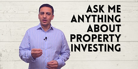 Ask Me Anything About Property Investing - Live Stream - With Saj Hussain tickets