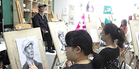 Portrait Drawing Workshop with Artist Guidance tickets