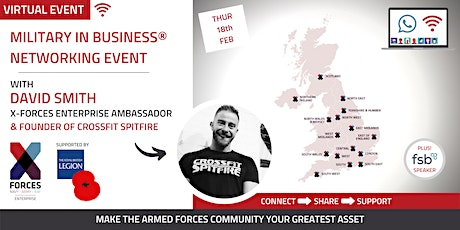 Military in Business Virtual Networking Event tickets